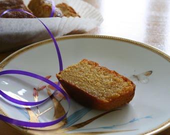 Lemon Polenta Loaf Cake Gluten & Lactose Free