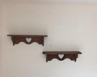 Wall shelfs set of (2)