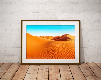 Desert texture, Morocco - Physical fine art photography print