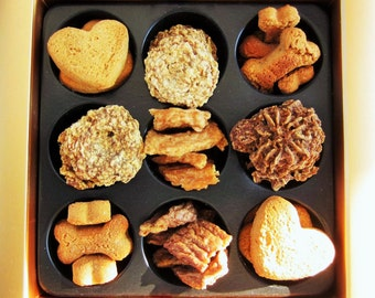 Zeus's Incredible Mixed Assortment  .  .  .  .  .  . Sampling Of Our Grain Free-Wheat Free And Pure Meat-Cookies, Biscuits & Treats For Dogs