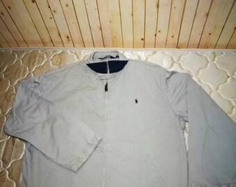 Rare!!! POLO RALPH LAUREN Cream Jacket Large Size