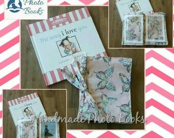 Fabric Photo Album/Book - Butterflies