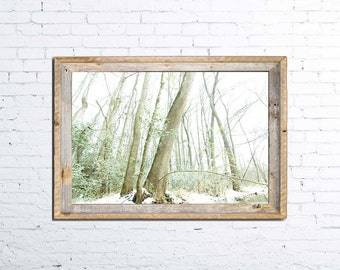 Nature photography, Snow landscape photography, Winter photography, Snow Art Print, Wall Decor, Home Decor