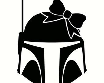 Mandalorian Helmet with Bow