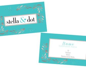 Stella and Dot Stella & Dot Business Card Marketing Branding