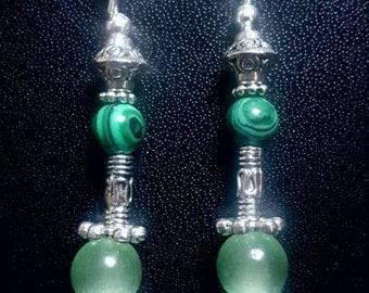 Malachite and jade