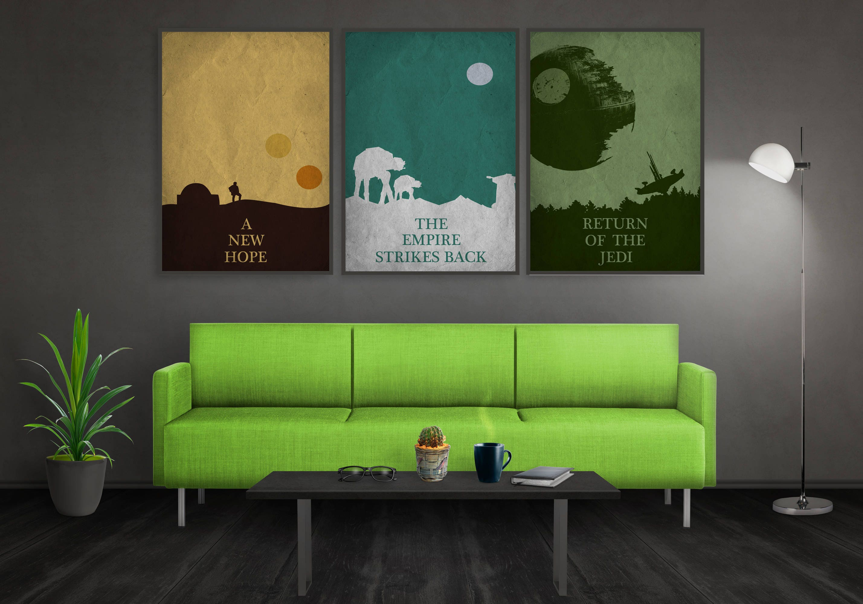 Wall Art Sets For Living Room Items Similar To Star Wars Wall Art Set Of 6 For Kids Room Baby