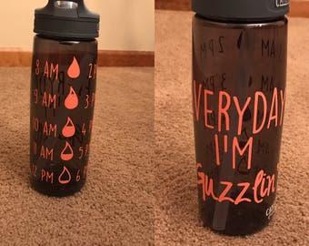 Everyday I'm guzzlin' water bottle