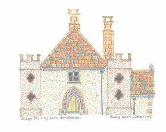 Cottage like a toy castle - Gloucestershire