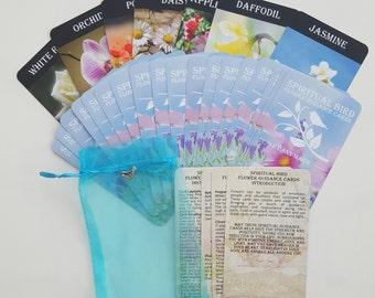Flower Guidance Cards / Oracle Cards / Handmade Tarot Cards / 25 Card Oracle Deck / Angel Cards