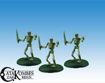 3 undead miniature