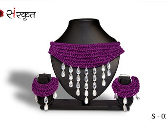 Necklace + Earings set - Style-2