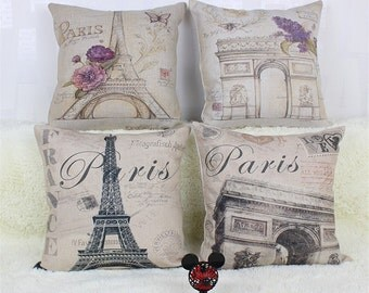 "CUSHION ""Paris"""