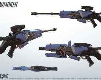widowmaker overwatch gun weapon replica handmade cosplay