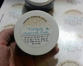 Purifying Charcoal Mask - 4oz/120ml