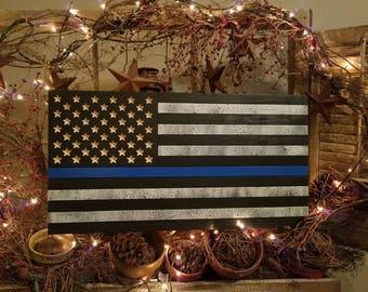 Law Enforcement American Flag
