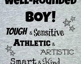 Well-Rounded Boy T-shirt