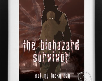 The Biohazard Survivor; Resident Evil Leon Kennedy Print