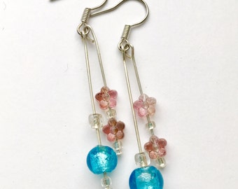 Summer Meadow Drop Earrings