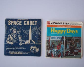 Happy Days Space Cadet View Master Reels