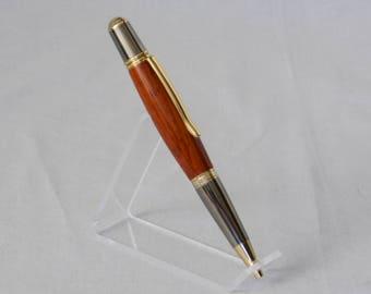 Padauk  Pen with Gold Accents