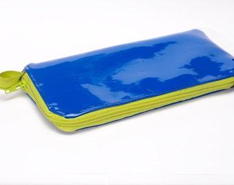 Blue Water Resistant Phone Wallet