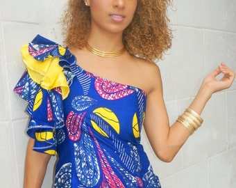 Ankara contemporary dress