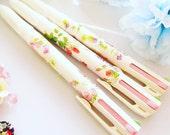 Floral Pattern Pen- 4 Colour