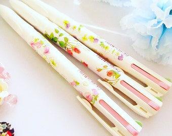Floral Pattern Pen- 4 Colour