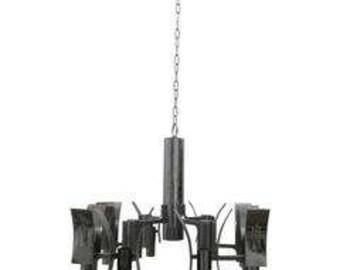 Pendant chandelier attributed to Gaetano Sciolari