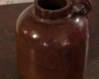 Minnesota stoneware jug