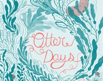 Otter Days (Risograph Zine)