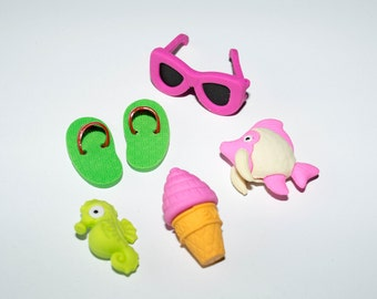 Eraser set of 6