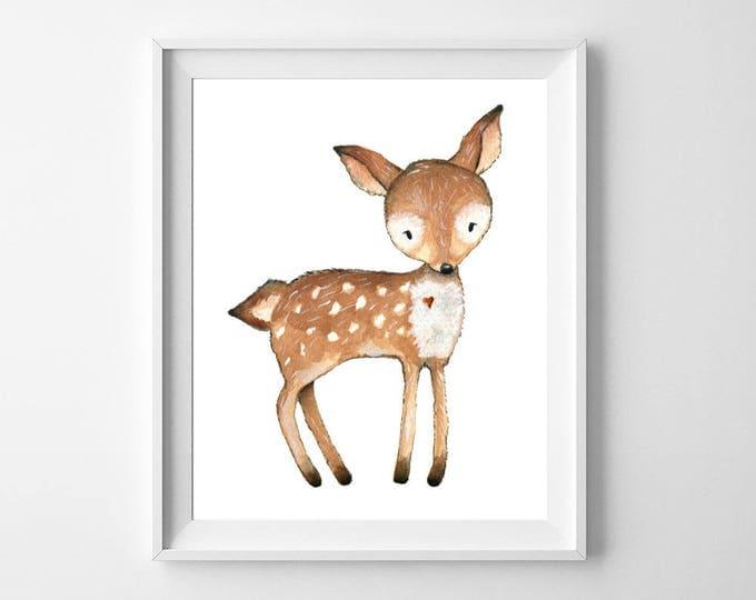 Nursery Decor, Nursery Wall Art, Woodland Nursery, Baby Shower Gift, Nursery Art, Woodland Animals, Instant Download, Wall Art, Woodland
