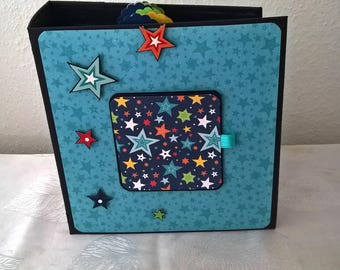 Handmade Scrapbook Album Little Man