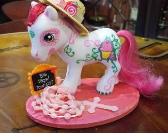 """OOAK small pony / MLP """"New Orleans"""""""