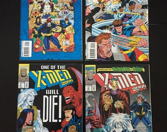 Vintage X-Men 2099 Comic Lot (4 Marvel Comics)
