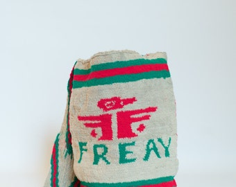 Hand-woven Mochila Bag, Handmade Bag, Satchel, Crossbody, Shoulder Bag