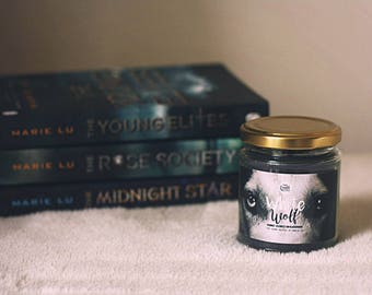 White Wolf {The Young Elites by Marie Lu} Candle