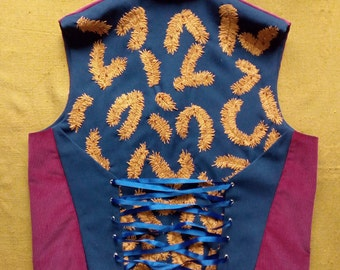 Waistcoat Waistcoat Waistcoat size Victorian velvet 52-54