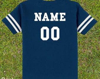 Custom Kids Football Shirt - Sports Apparel & Jersey - Create Your Own