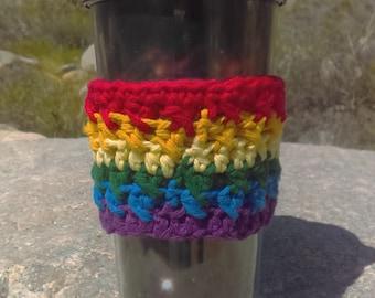 Pride Rainbow Coffee Sleeve