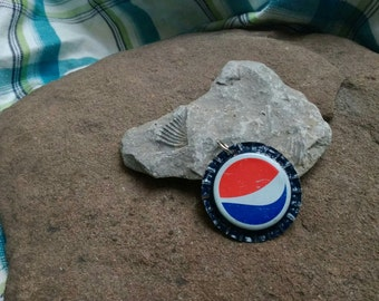 Bottle Cap Pendant - Pepsi