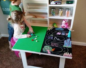 Lego Table Storage Etsy