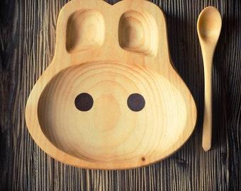Детская тарелка - чаша.  Baby bowl dish