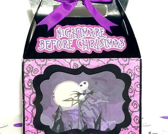 12 boxes for sweets of Jack Skellington, decoration for birthdays, parties and gifts