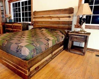 Special of the week, rustic bedroom set