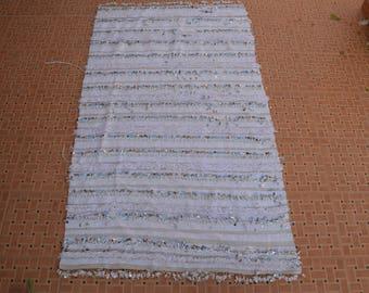 Moroccan wedding blanket,Handmade blanket;Berber handira blanket MH 035  182 cm * 111  cm / 71.5 inch x 44 inch