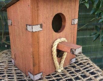 Birdhouse Red Barn