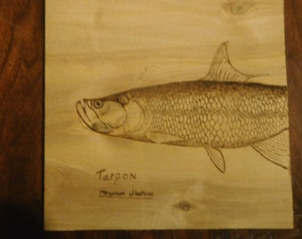 Wood-burned pictures